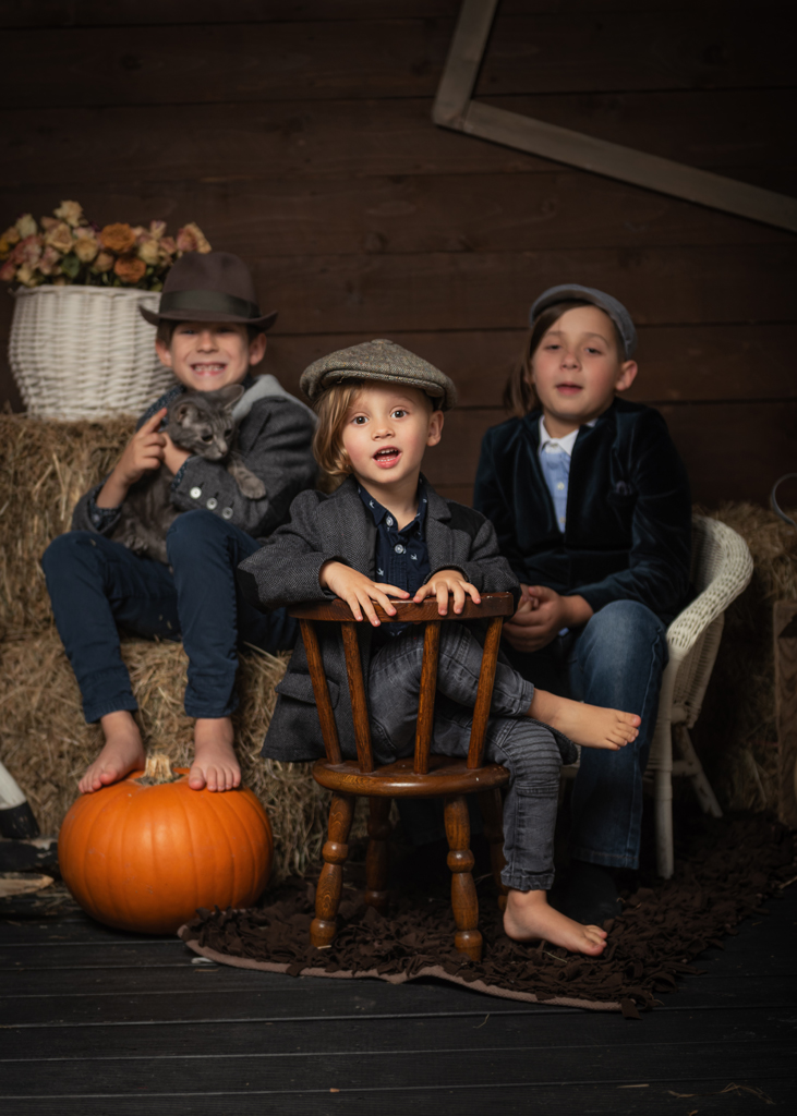 Autumn Peaky Bliders Style Children Photoshoot in Nottingham Based Photo Studio, Children Portrait Photographer Nottingham, Derby, East Midlands