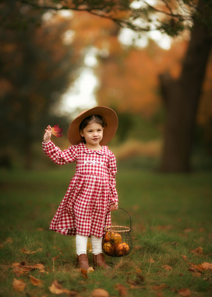 Children portrait from Autumn Family outdoor Photo Shoot in Wollaton Hall Park Nottingham