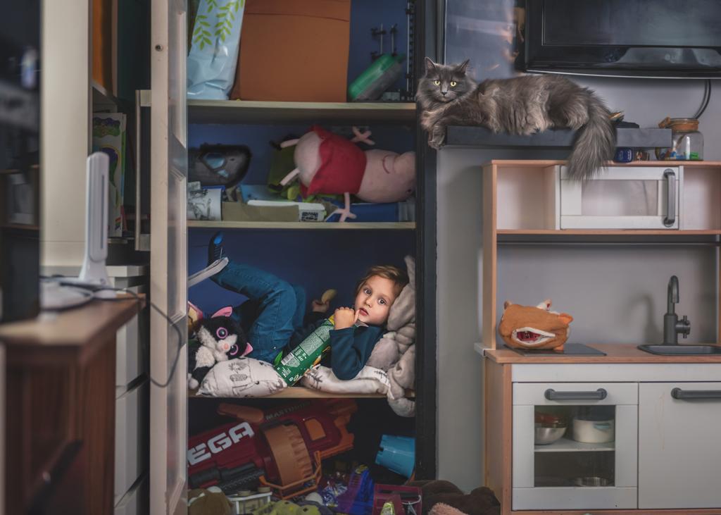Lifesty Children Portrait Photoshoot in your home, Nottingham Family Photographer