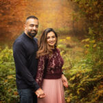 couple photoshoot in Sherwood Pines in Nottingham