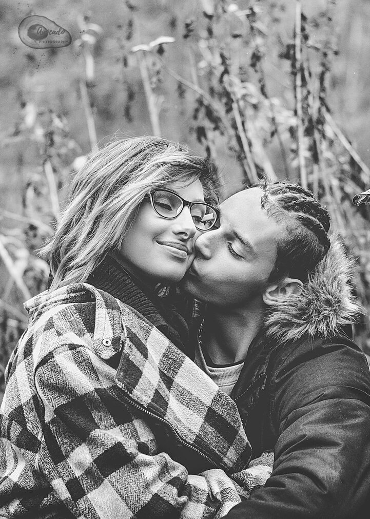 Engagement Couple Outdoor Photography in Nottingham Derby Eastwood