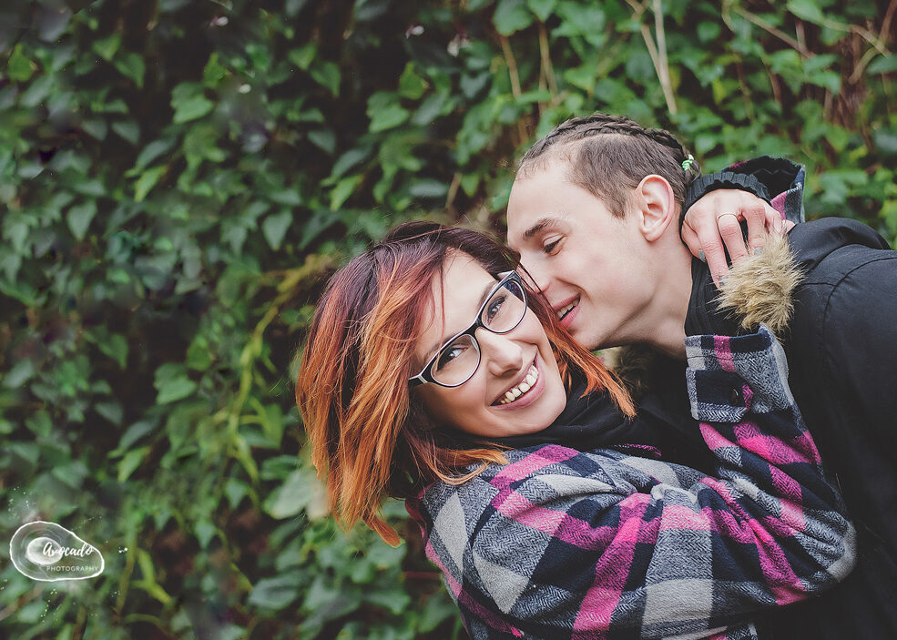 Couple outdoor Session in Nottingham Park,
