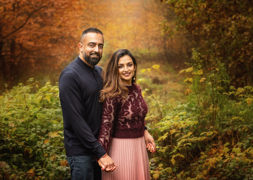Family Outdoor Photoshoot in Sherwood Pines in nottingham
