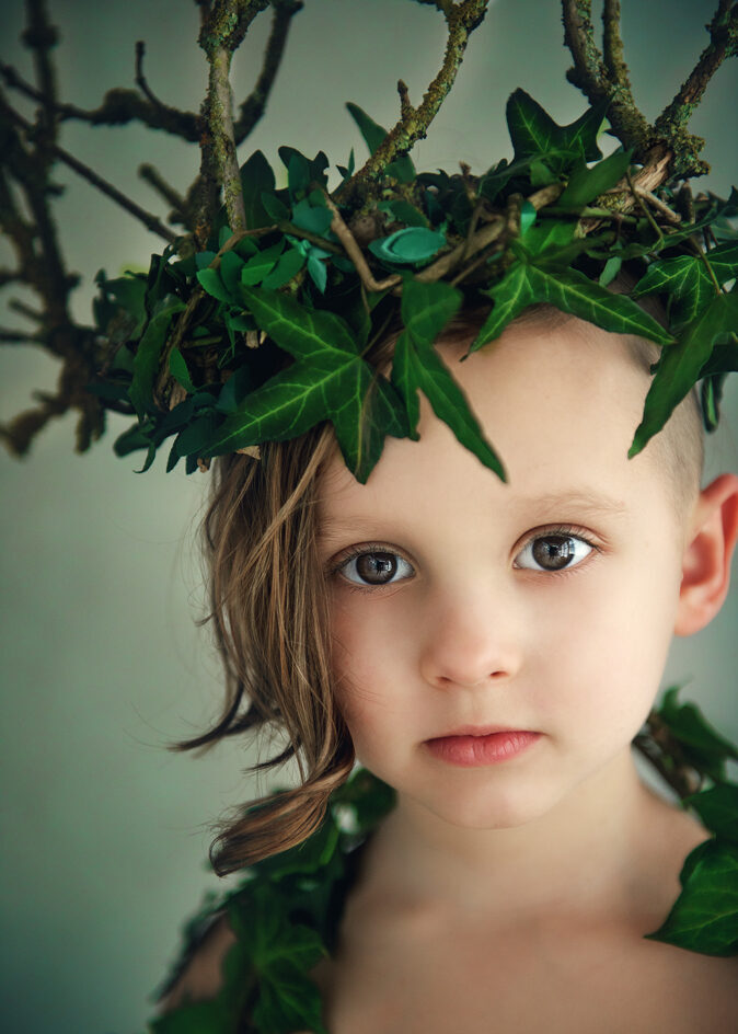 Children Portrait Photographer Nottingham Eastwood Studio Photography