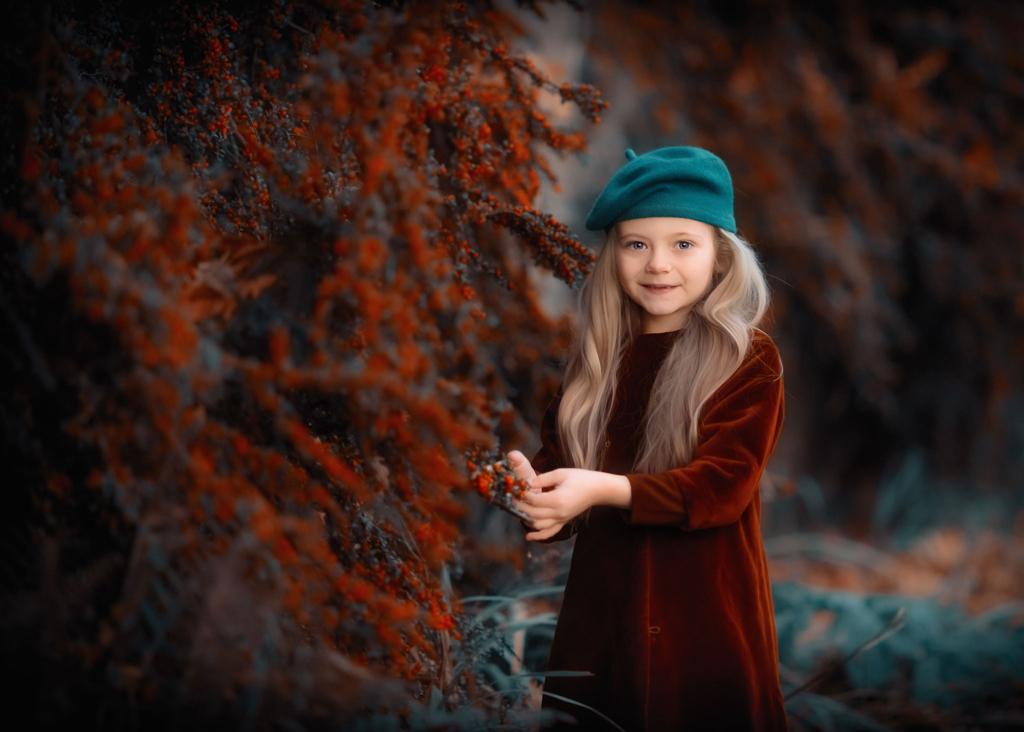 Fine art outdoor children photographer
