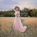 Woman Outdoor Model Portfolio Photoshoot in nottingham, Makeover Portrait Nottingham.