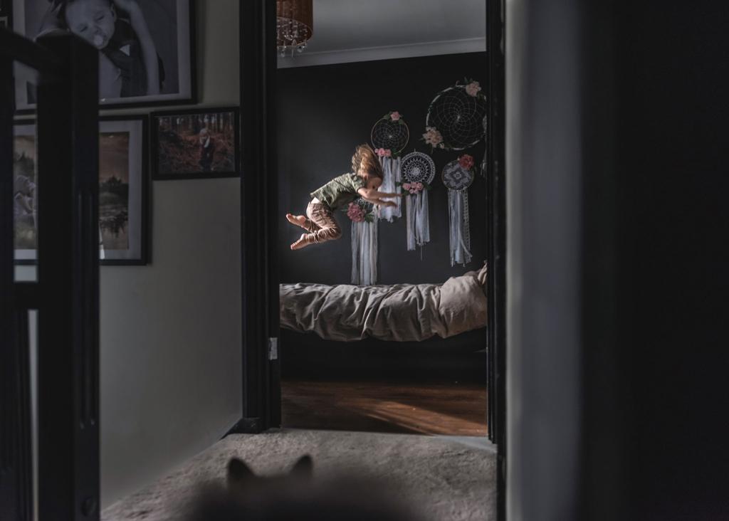 Children lifestyle portrait photographer, children and family photographer based in Nottingham