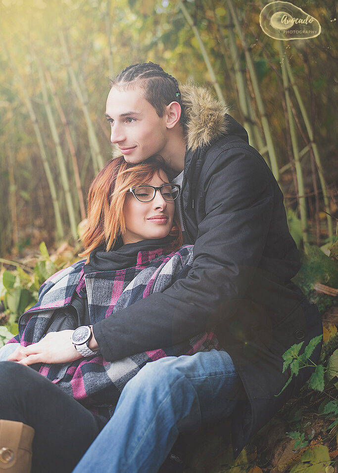 couple outdoor photoshoot in Nottingham Park