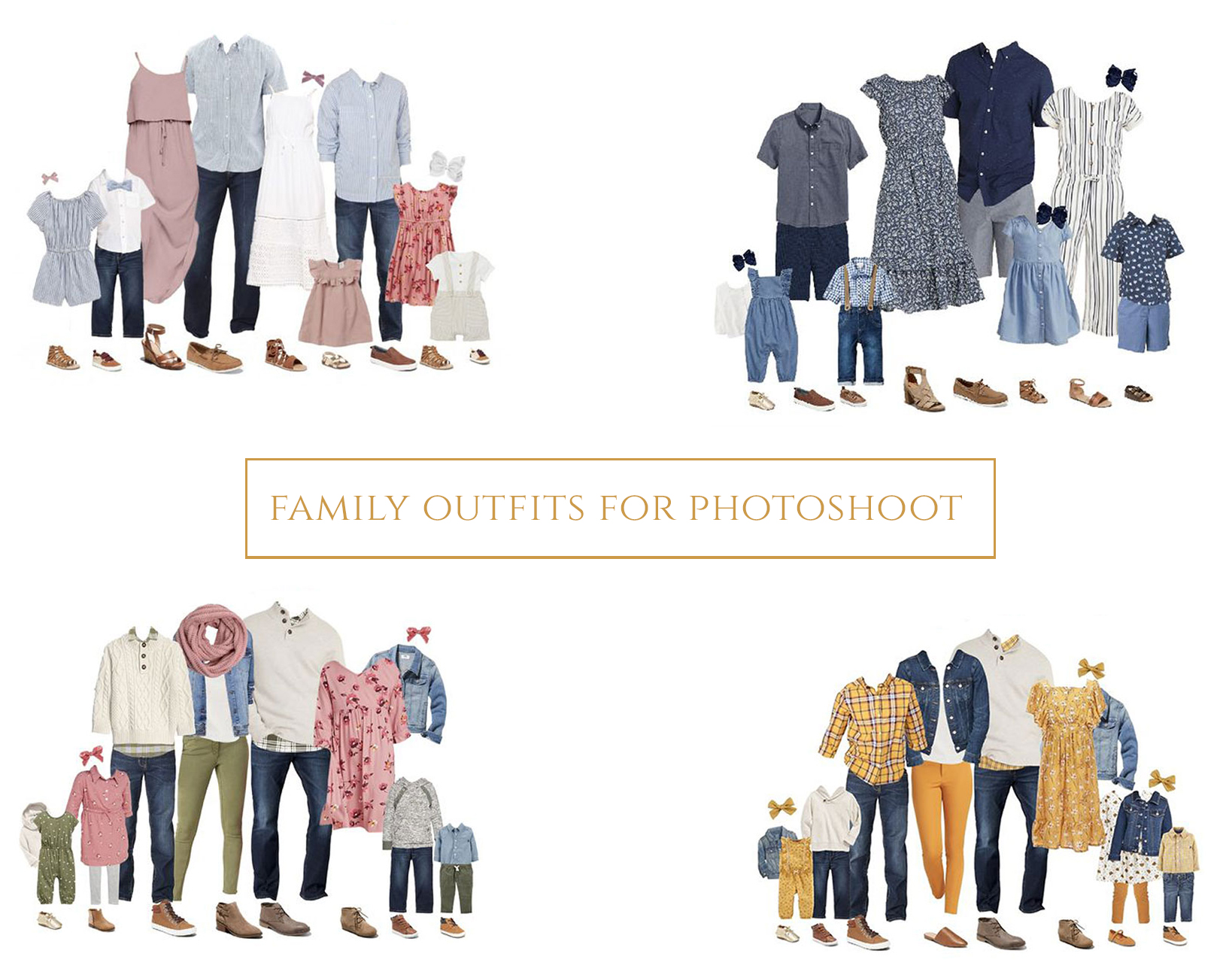 what to wear to a family photoshoot